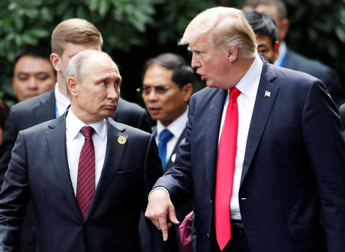 Trump: Putin told me 'he didn't meddle' in US election