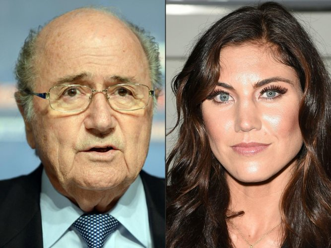 Blatter accused of sexual assault