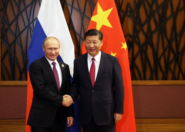 Quiet rivalry between China and Russia