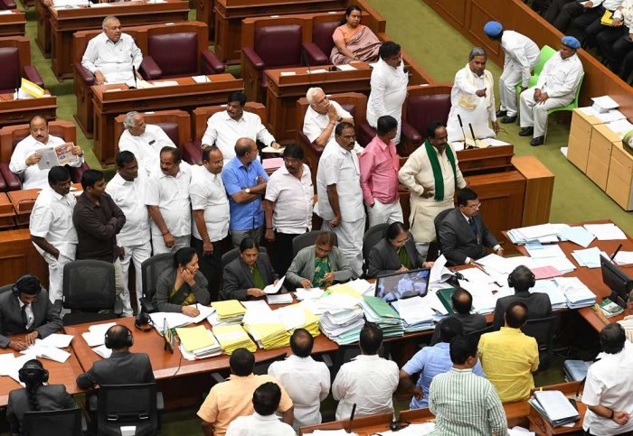 Uproar in session as opposition demands George's resignation