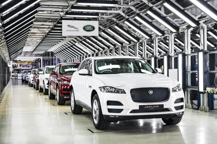 Jaguar Land Rover begins production of F-Pace in India