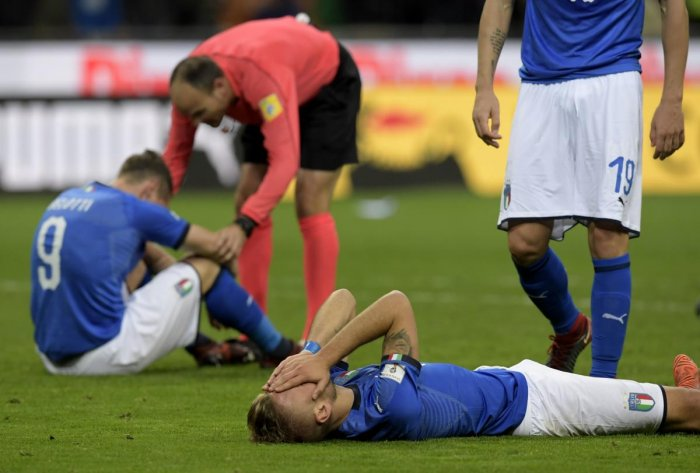 Italy miss out on World Cup as Sweden qualify