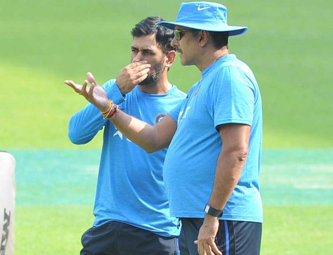 Look at your career before commenting on Dhoni: Shastri