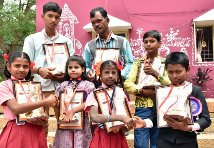 Kids awarded for bravery, feats on Children's Day