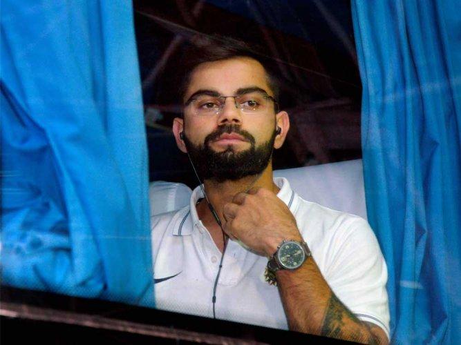 Will take a break when needed, says Kohli