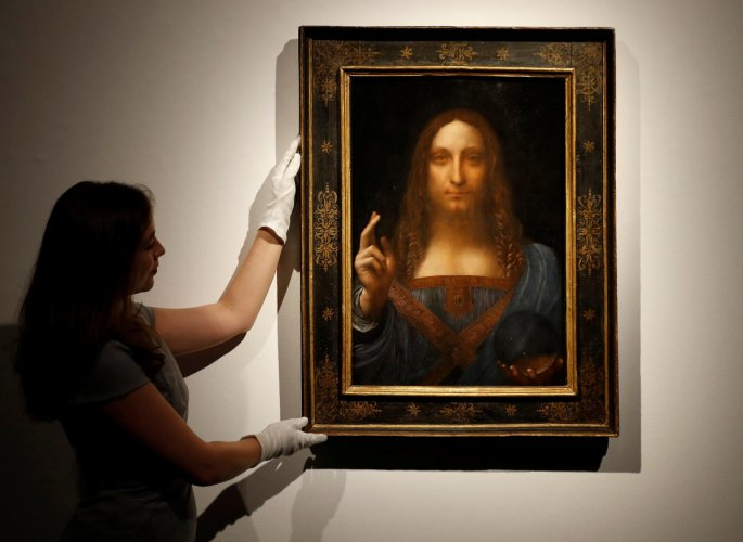 Da Vinci portrait of Christ sells for record $450.3 mn