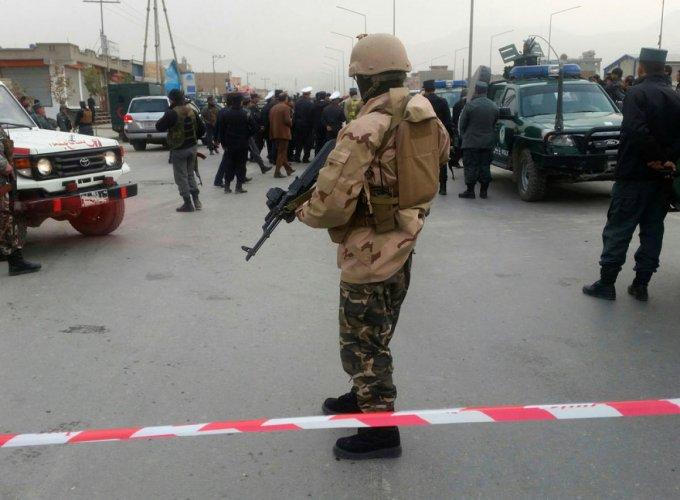 Explosion rocks Afghan capital near political gathering, 14 dead