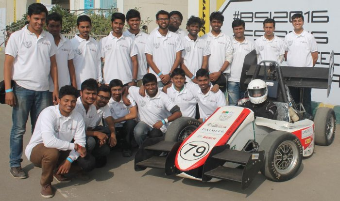 Team NITK Racing to build formula style race car