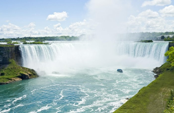 Through mesmerising Canada