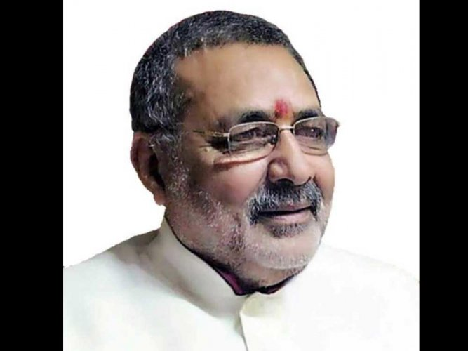 Democracy is safe in India because of Hindus: Giriraj Singh