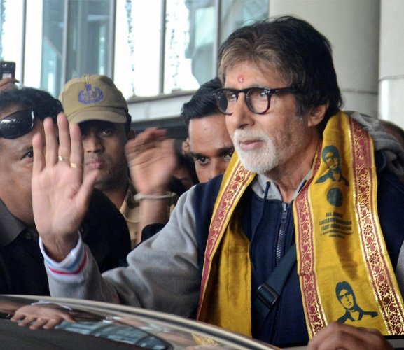 There was no accident, I am well, says Amitabh Bachchan