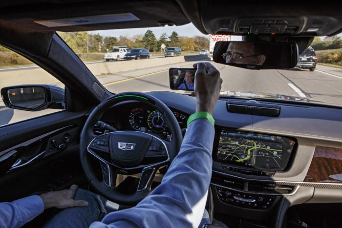 Near future of driving: eyes forward, hands free