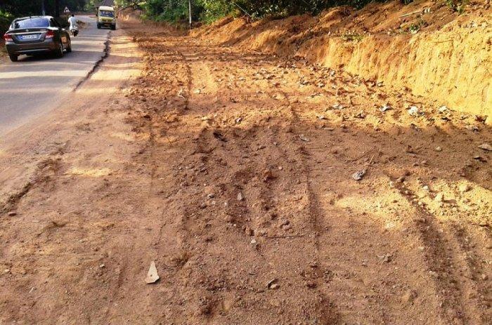 Kadaba-Panja road development work initiated