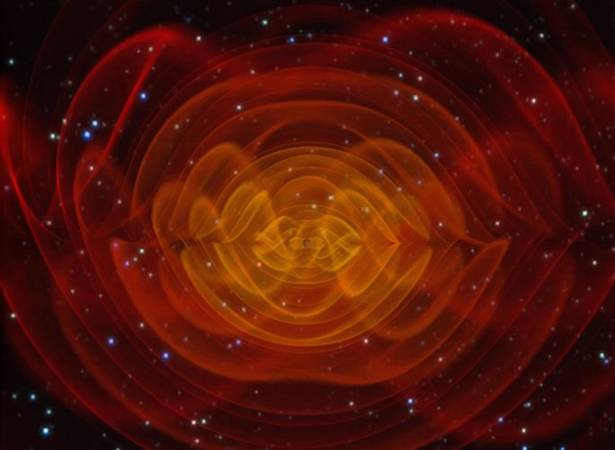 Gravitational waves from black hole collision detected