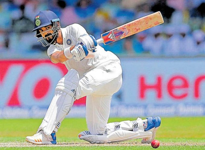 Tight vigil by Rahul, Dhawan takes India to 70 for none at tea