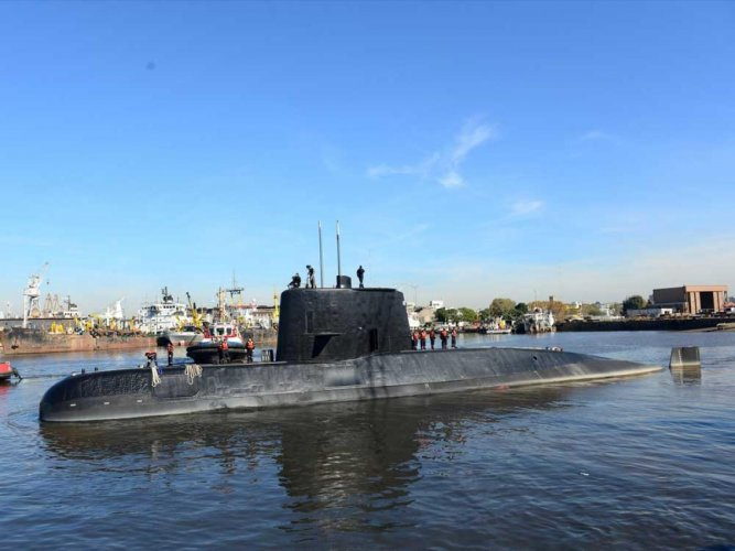 Satellite signals bring hope to Argentina's search for missing sub