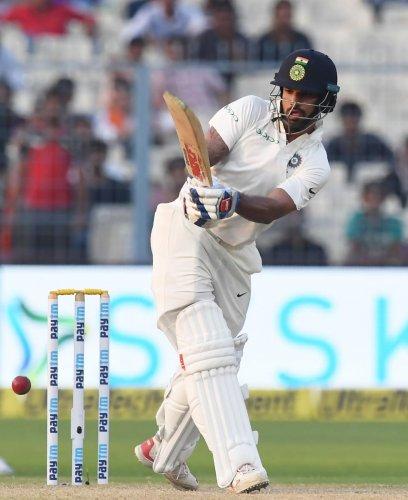 Dhawan, Rahul lead Indian fightback