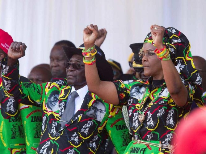 Mugabe ousted as ruling party chief as end nears