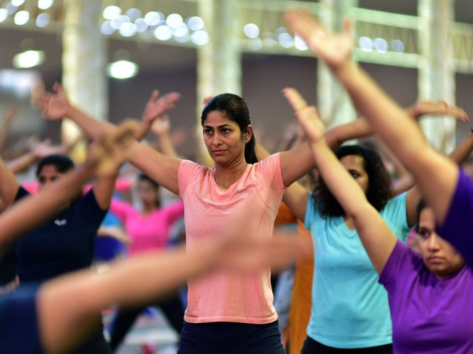 Minister seeks inclusion of yoga in hospitals