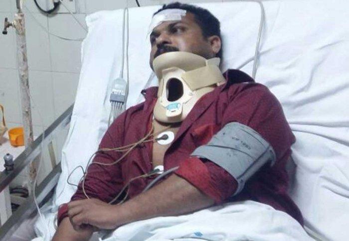 CPM office attacked, BJP men held