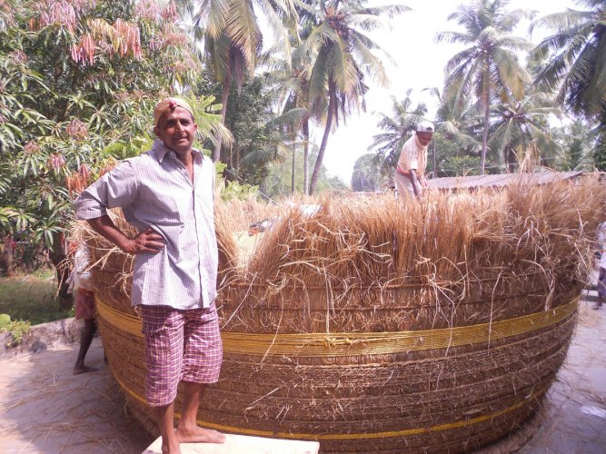 13-feet high Kanaja to store 190 quintals of paddy
