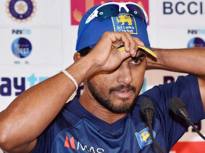 Happy to put India under pressure: Chandimal