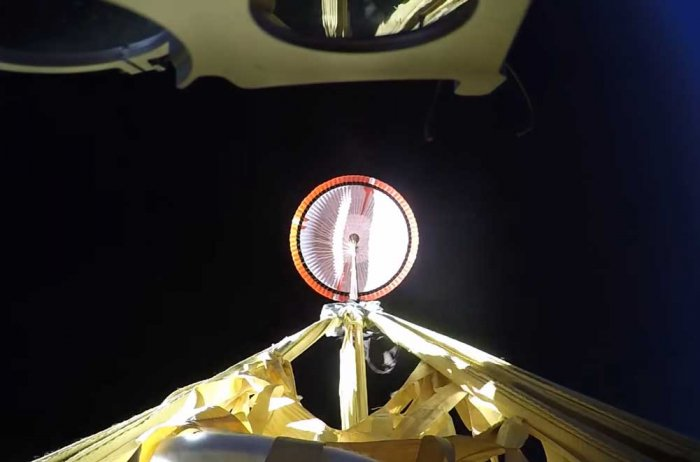 NASA's first parachute test for Mars 2020 mission successful