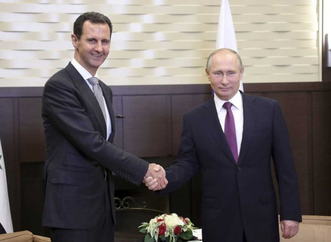 Putin and Assad met in Sochi: Kremlin