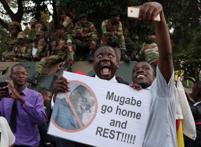 Mugabe resigns, ending 37-year reign over Zimbabwe