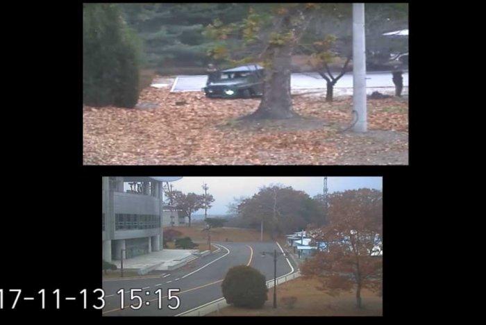 Watch: Dramatic footage shows N. Korea defector's border dash