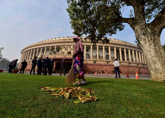 Winter session likely from Dec 15 to Jan 5
