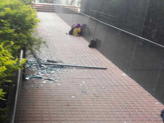 Parents gather after Bengaluru school freak accident