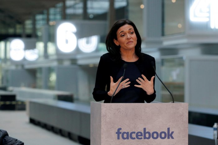 Facebook COO Sheryl Sandberg acknowledges partnership with EDII