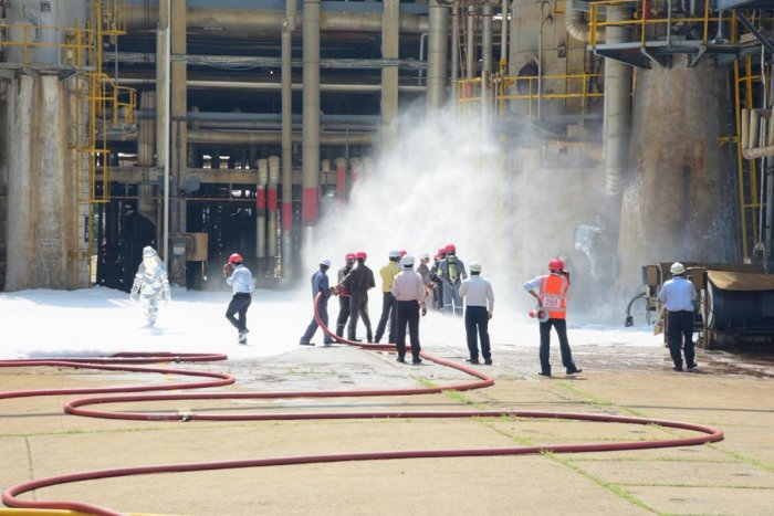 MRPL conducts onsite mock exercise