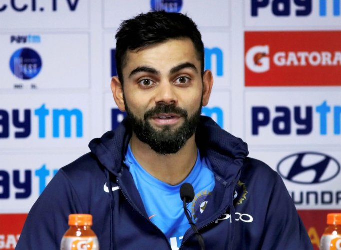 Kohli hits out at hectic cricketing schedule