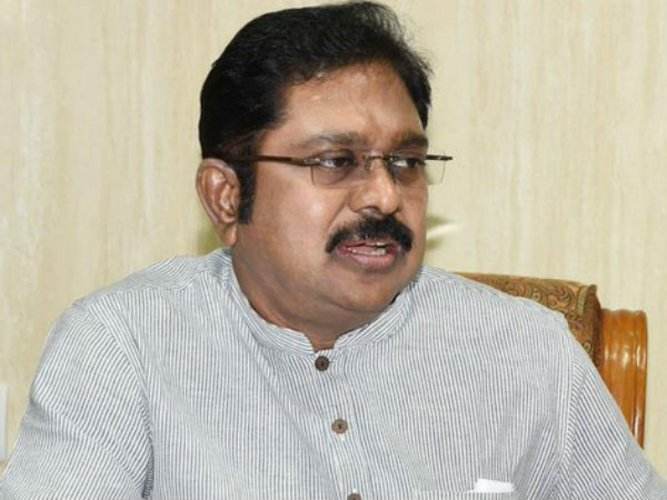 Dhinakaran puts on a brave face, says will contest R K Nagar bypoll