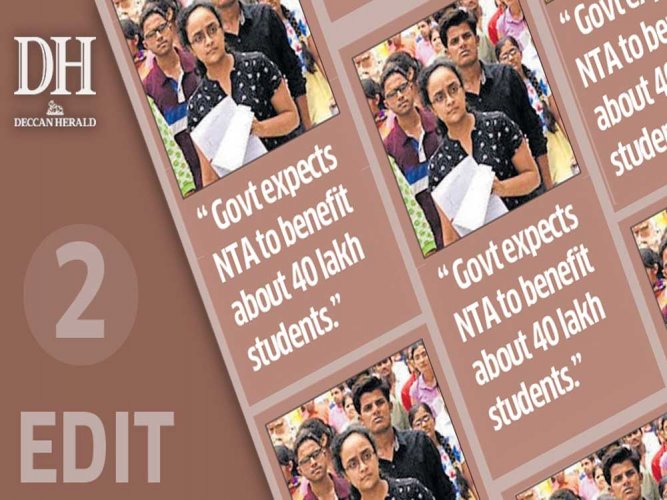 Testing agency, a boon to students