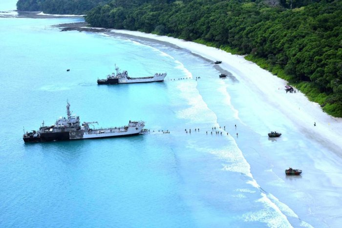 India conducts exercise to 'free' Andaman