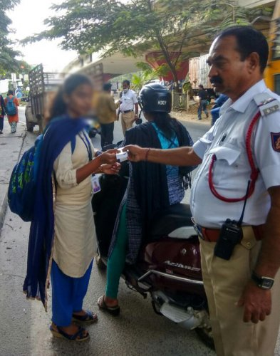 Not unethical: traffic cops defend drive to shame violators