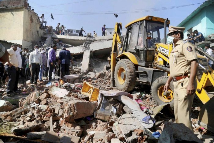 Bhiwandi building collapse: Toll rises to four; owner booked
