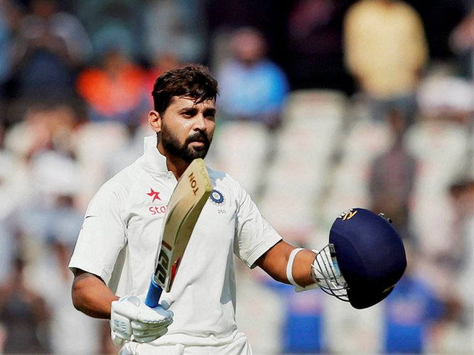 Vijay scores century as India reach 173/1 vs SL