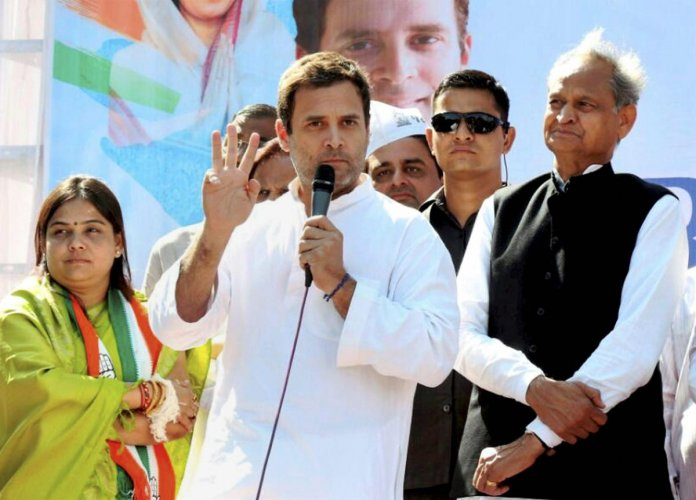 Rahul trains guns on Modi over Rafale deal, Jay Shah issue
