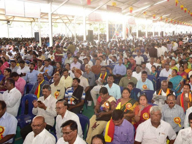 Sahitya sammelana receives overwhelming response