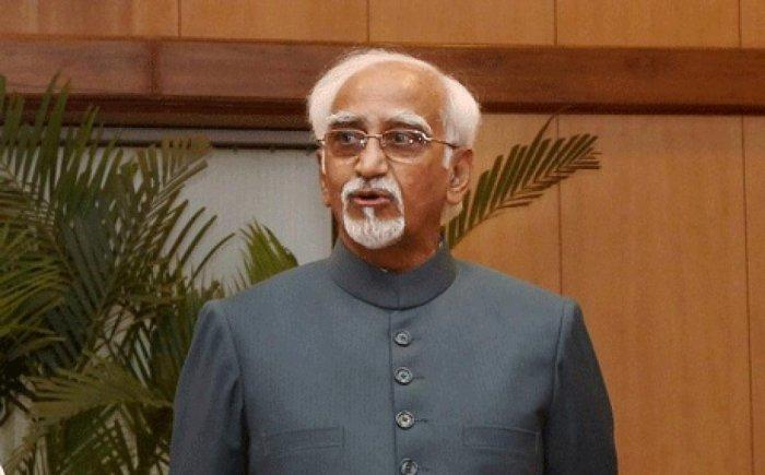 Address human development issue on priority: Ex-VP Ansari