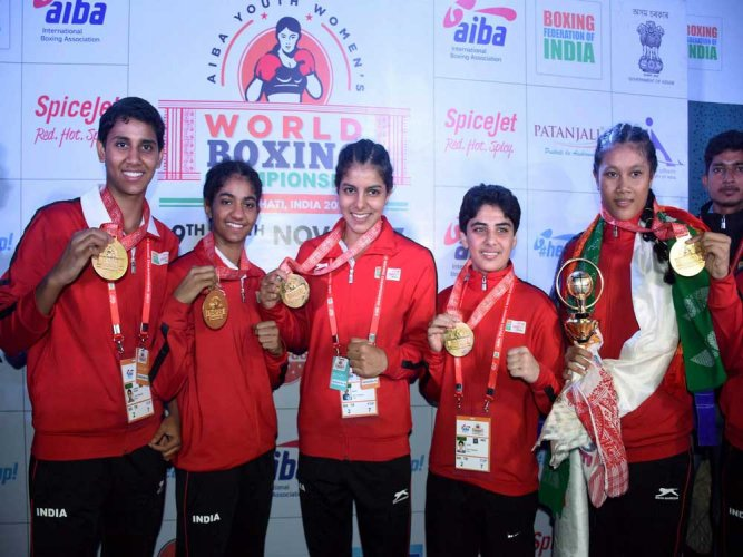 Indian girls clinch five gold to emerge champs