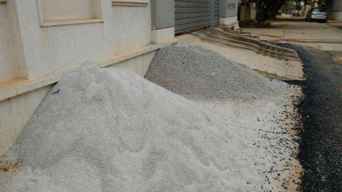 GAIL restores roads in Sanjaynagar