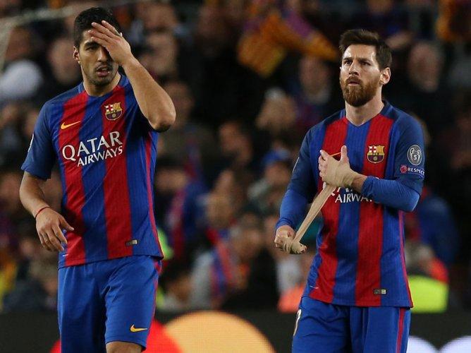 Barca slam referee's decision