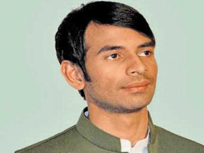 Will get PM skinned, says Lalu's son Tej Pratap