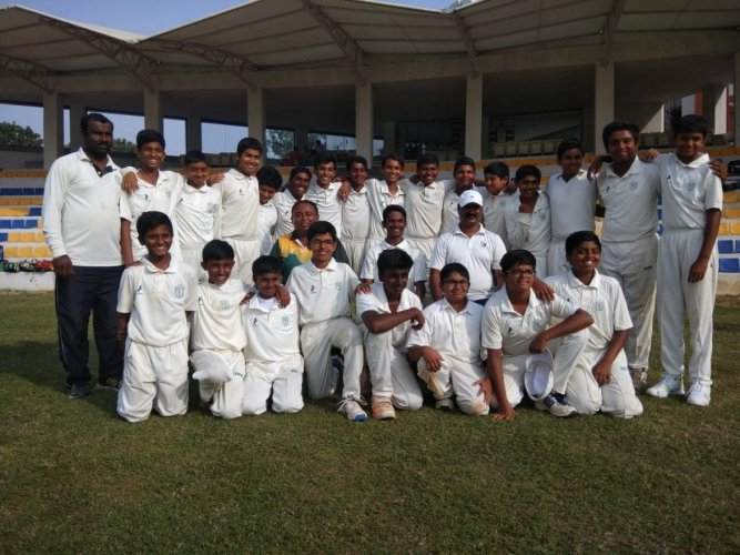 DPS, South emerge champions