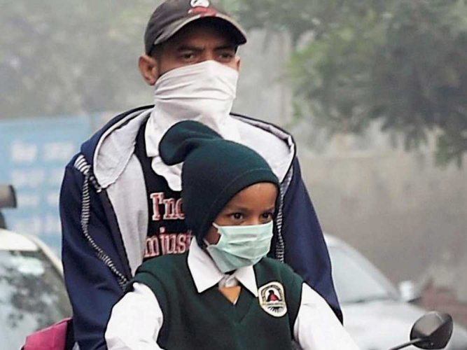 Every 3rd child in Delhi has impaired lungs: Study